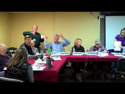 MCH Board Meeting 10/29/2013 clip 01 of 02 Mineral County Montana Community Hospital Governing Board