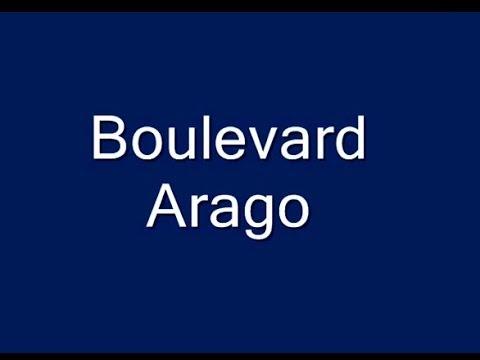 Boulevard  Arago Paris 13e et 14e arrondissements
