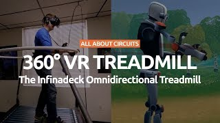 Amazing 360 VR Treadmill