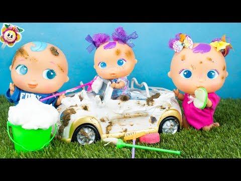 🍓 BEBÈ BELLIES: le loro auto e moto sono molto sporche 🙈 però i bebè mettono TROPPA SCHIUMA! 😂