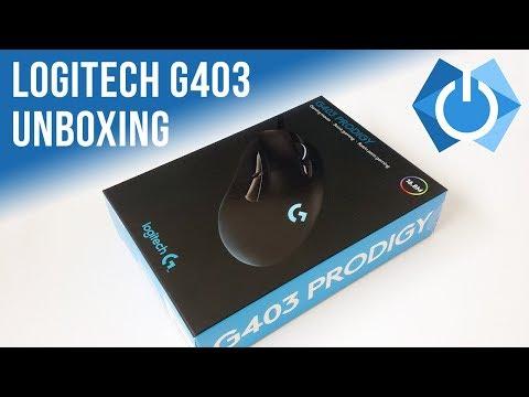 485c2e42989 Logitech G403 Unboxing Video | PRODIGY! - YouTube