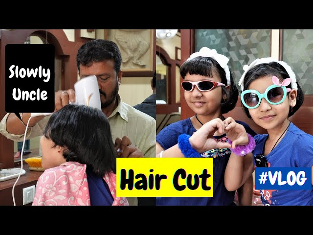 Let's go for a Hair cut Di | #VLOG / Hair Styles /  #LearnWithPari #LearnWithPriyanshi #Aadyansh