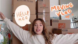 MOVING VLOG #2 📦 ..perhaps the fastest move of all time 😅send help