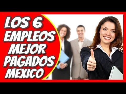 Empleos Mejor Pagados En Mexico #Empleo #Trabajo