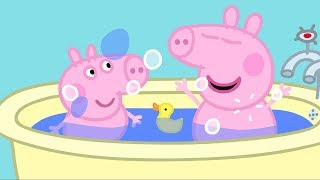 Peppa Pig English Episodes | Peppa Pig's Bath Time  Peppa Pig Official