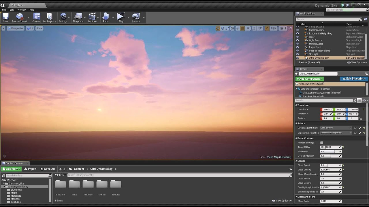 Creating custom sky from HDR image in Unreal Engine - Evermotion