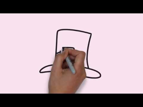 How To Draw a Hat - Cara Menggambar Topi - YouTube 0a072c6bad