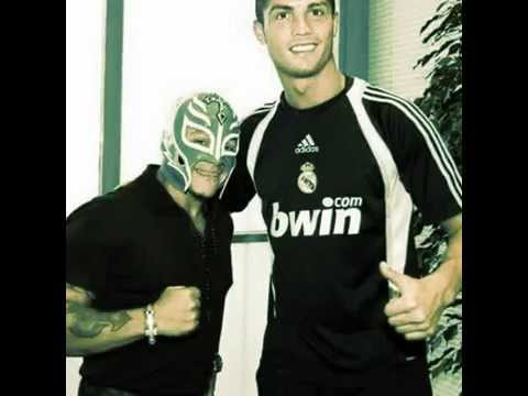 rey mysterio and cristiano ronaldo - YouTube