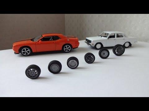 Наборы колесных дисков Brabus, Alpina, BMW Motorsport 1:43 Аксессуары для конверсий КолхоZZ Division