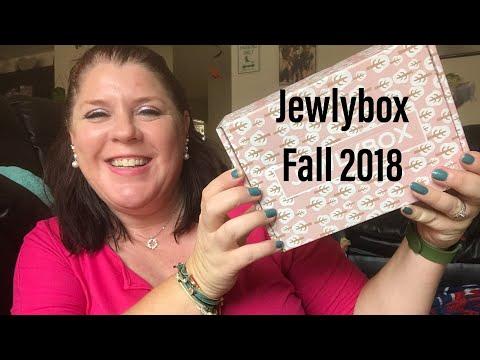 JEWLYBOX // FALL 2018 // JEWELRY BOX SUBSCRIPTION// PLUS 💵 COUPON CODE💵