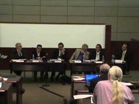 World Intellectual Property Org. Conference Panel 3