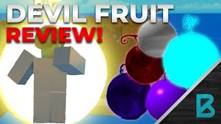 RATING ALL THE DEVIL FRUITS! | ONE PIECE MILLENIUM | ROBLOX