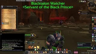 To The Catacombs Horde  8.2.5 Wrathion Questline