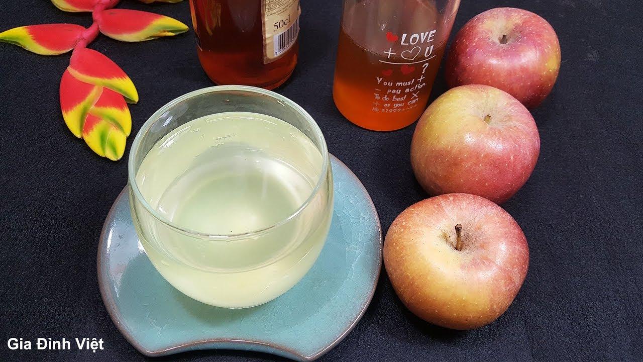 Cách giảm cân bằng giấm táo an toàn hiệu quả