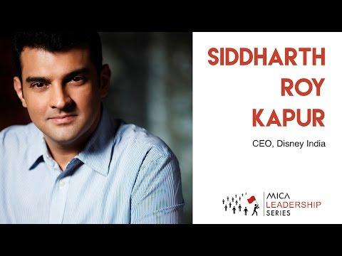MICA Leadership Series | Siddharth Roy Kapur | 22nd July 2016