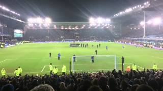 Creed - new Rocky Movie Filming at Goodison Park