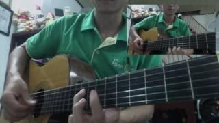 [Guitar] Ngôi nhà mặt trời mọc - House of rising sun (1 đoạn) | Lê Trung Hoàng