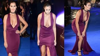 Chloe Goodman Spills out of Dress at Fantastic Beasts and Where to Find Them Premiere