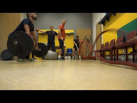 Środa Portowców – Rano siłownia, wieczorem boisko