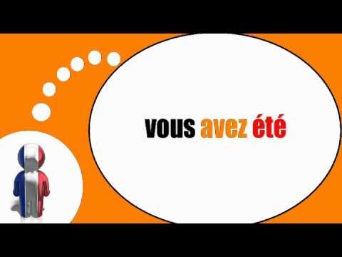at være på fransk