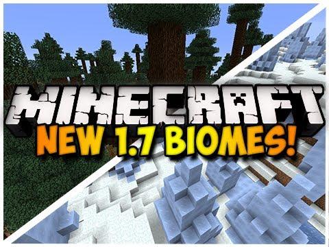 Minecraft: NEW 1.7 BIOMES!!! (HD)