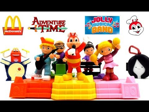 August 2015 Jollibee Kids Meal Road Rollers Toy Unpacking