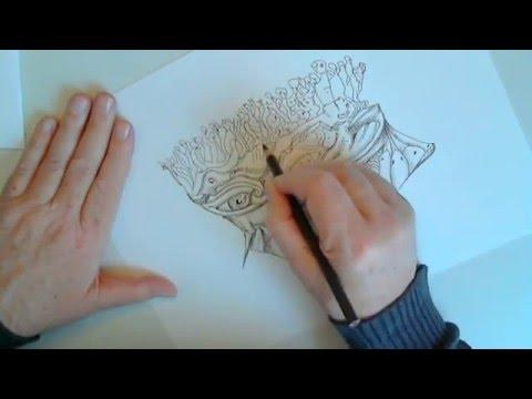 Tekenen surrealistisch youtube for Ontruimingsplattegrond zelf tekenen