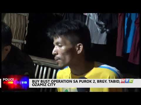 MBC OZAMIZ- Buy Bust operation in  Tabid, Ozamiz City Jan,12,2018