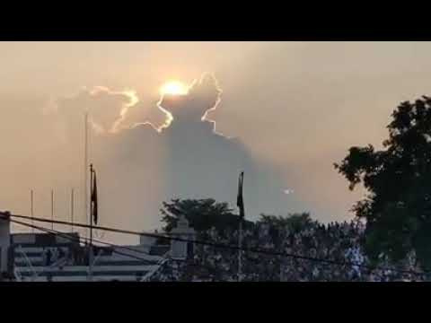 Cloud Map India Cloud making India map shape , sunset at wagah border   YouTube
