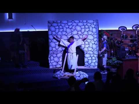 Children's Church Easter skit 2016