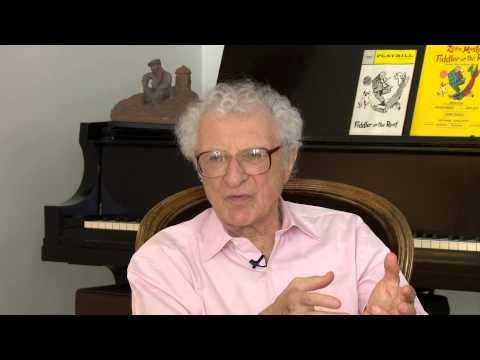Arts in the City: Fiddler at 50: A Conversation with Sheldon Harnick and Hal Prince