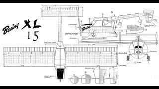 Boeing XL 15 чертежи модели   # 143