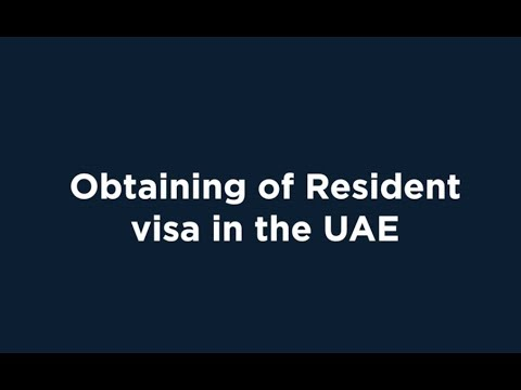UAE Residence Visa Procedure | Explained by My Business Consulting DMCC
