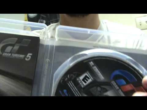 Gran Turismo 5 XL Edition Unboxing