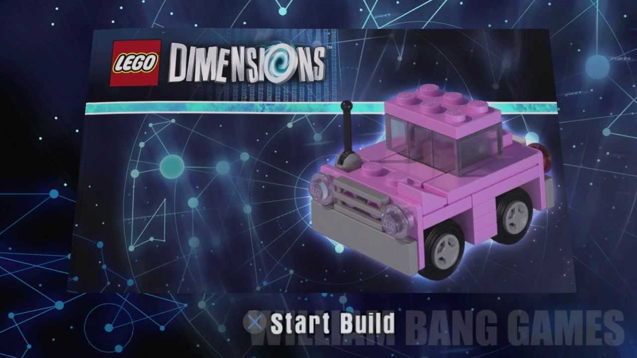 Building Instructions For Lego Dimensions Simpsons