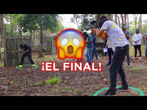 ¡El Último En Salir Del Círculo Se Gana Un iPhone! (Paintball Challenge) PARTE 2