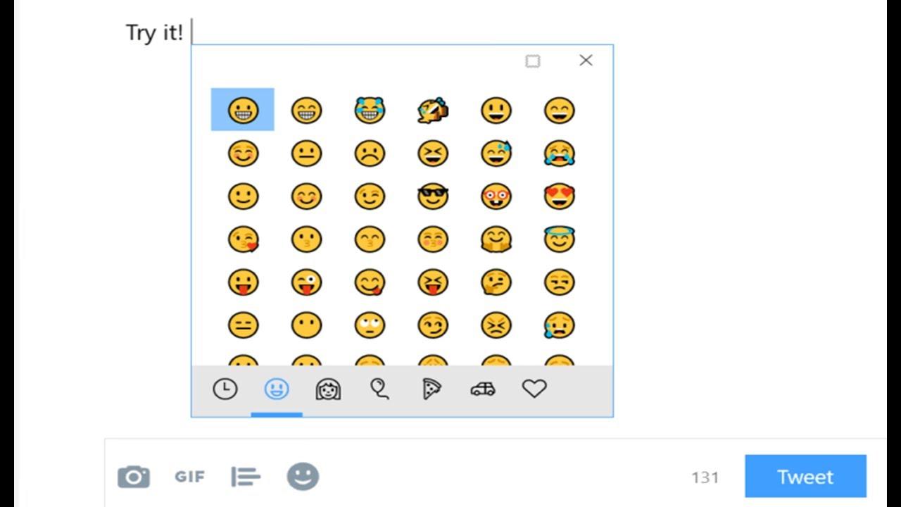 Comment Afficher Les Emoticons Emoji Sur Windows 7 8 10 Youtube