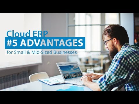 Cloud ERP: 5 advantages for Small and Mid-Sized Businesses - VIENNA Advantage