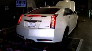 CTS-V with Lingenfelter Supercharger Upgrade on the Dyno