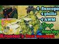 4 ghillie+4 AWM+4 8xscope   KRONTEN's best moment chicken Dinner #krontengaming #jbgamer #pubgmobile