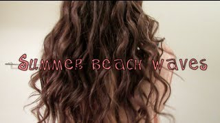 Summer Beach Waves!