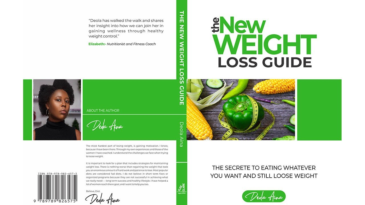 MY NEW WEIGHT LOSS GUIDE BOOK LAUNCH | DEOLA AINA