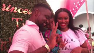 Sarkodie and Tracy Sarkcess celebrate Titi Sarkcess birthday with Adina Thembi and other superstars
