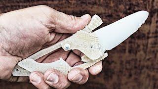 Как сделать #нож из разделочной доски #FULL METAL(Нож можно сделать из чего угодно! Из куска металла, из старого напильника, из пакета молока и ..... даже из..., 2016-06-28T13:03:44.000Z)