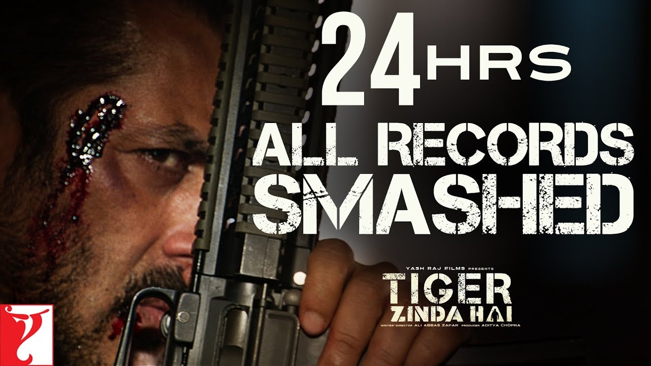 24 hours all records smashed tiger zinda hai trailer salman khan katrina kaif