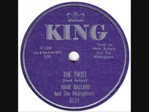HANK BALLARD & MIDNIGHTERS The Twist 78 1959 - YouTube