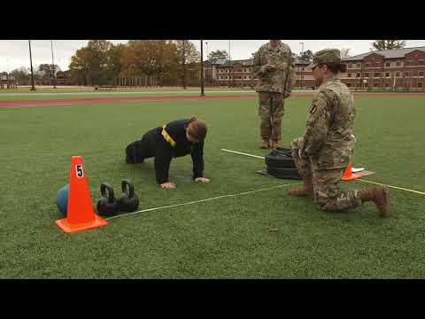 The Army Combat Fitness Test