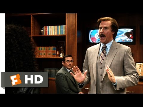 Anchorman 2: The Legend Continues - African And American Scene (3/10) | Movieclips