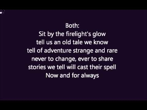 Now and for always lyrics - Lord Of The Rings