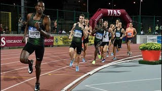 Men's 800m at Palio Citta della Quercia 2018